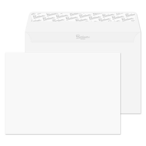 Blake Premium Business Wallet Envelope C5 Peel and Seal Plain 120gsm White Wove (Pack 500)