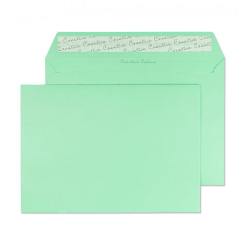 Blake Creative Colour Spearmint Green Peel & Seal Wallet 162X229mm 120Gm2 Pack 500 Code 317 3P