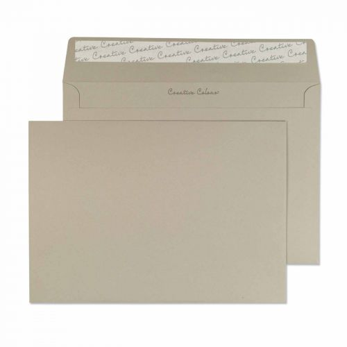 Blake Creative Colour French Grey Peel & Seal Wall et 162X229mm 120Gm2 Pack 500 Code 319 3P