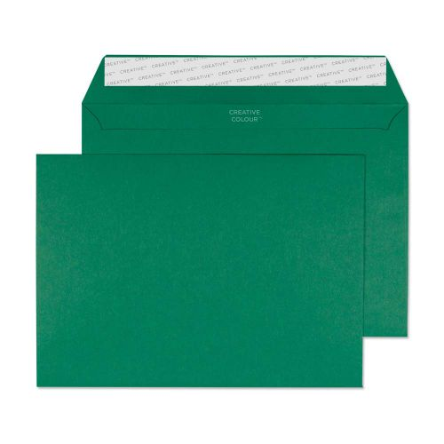 Creative Colour British Racing Green P&S Wallet C5 162x229mm Ref 321 [Pack 500] *10 Day Leadtime*