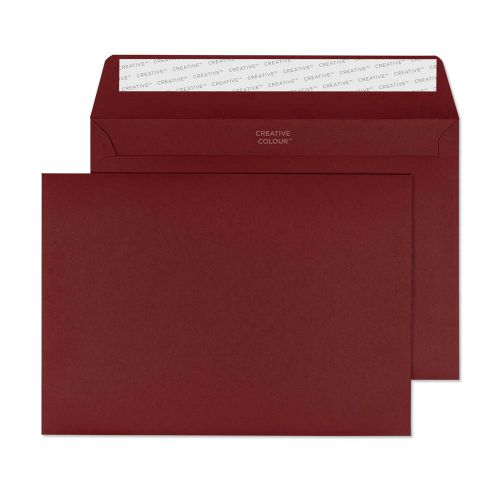 Creative Colour Bordeaux Peel and Seal Wallet C5 162x229mm Ref 322 [Pack 500] *10 Day Leadtime*