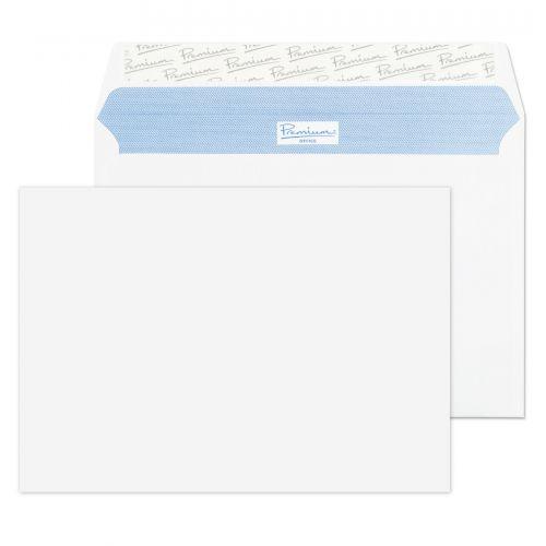 Blake Premium Office Ultra White Wove Peel & Seal Wallet 162X229mm 120Gm2 Pack 500 Code 34215 3P
