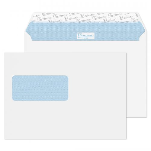 Blake Premium Office Wallet Wndw P&S Ultra White Wove C5 120gsm Ref 34216 Pk500 *10 Day Leadtime*