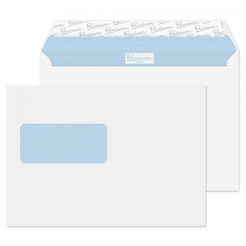 Blake Premium Office Wallet Wndw P&S Ultra White Wove C5 120gsm Ref 34217 Pk500 *10 Day Leadtime*