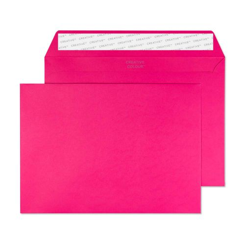 Creative Colour Shocking Pink P&S Wallet C5 162x229mm Ref 342 [Pack 500] *10 Day Leadtime*