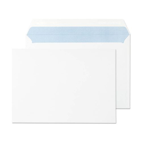 Purely Everyday Wallet P&S Ultra White 120gsm C5 162x229mm Ref 34707 [Pack 500] *10 Day Leadtime*