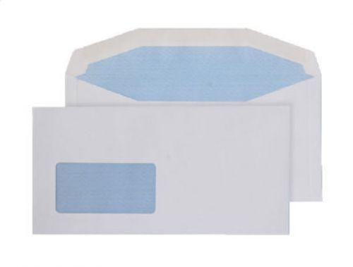 Purely Everyday Mailer Gummed Low Window White 80gsm DL+ 114x229 Ref 3504 Pk1000 *10 Day Leadtime*
