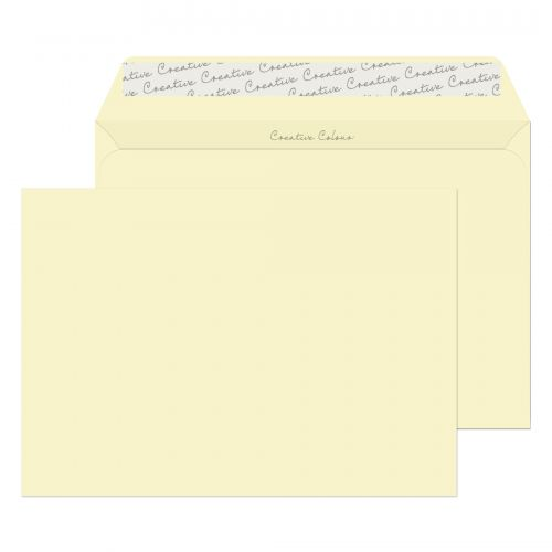 Blake Creative Colour Soft Ivory Peel & Seal Walle t 162X229mm 120Gm2 Pack 500 Code 352 3P