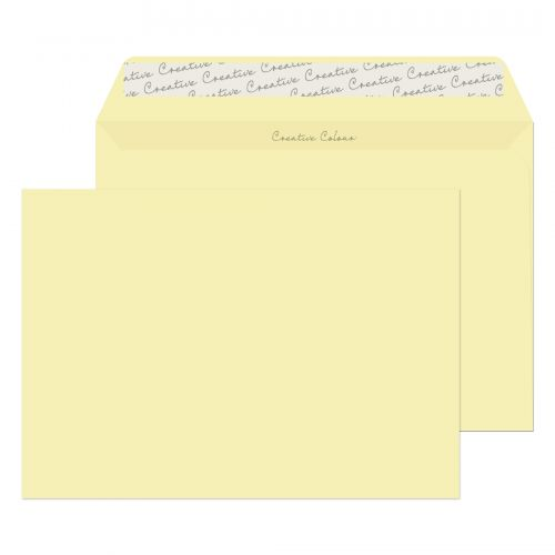 Creative Colour Wallet P&S Clotted Cream 120gsm C5 162x229mm Ref 353 [Pack 500] *10 Day Leadtime*