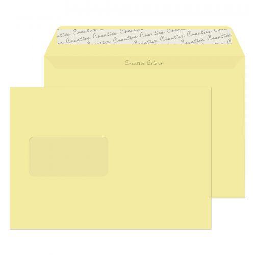 Blake Creative Colour Vanilla Ice Cream Window Pee l & Seal Wallet 162X229mm 120G Pk500 Code 354W 3P