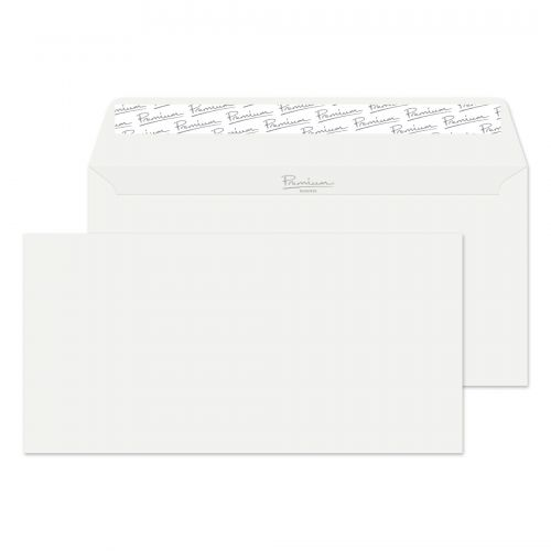 Blake Premium Envelope DL Wallet Peel & Seal 120gsm Wove Finish High White Wove Ref 35882 [Pack 500]
