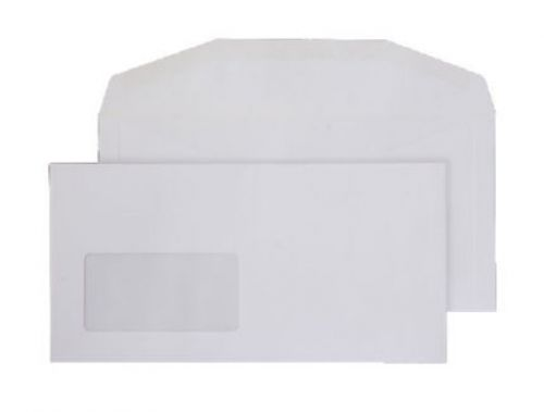 Blake Purely Everyday White Window Gummed Mailer 114X229mm 110Gm2 Pack 1000 Code 3604 3P