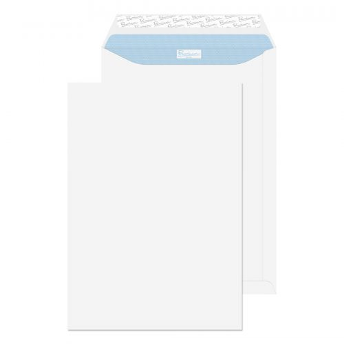 Blake Premium Office Pocket Envelope C4 Peel and Seal Plain 120gsm Ultra White (Pack 250)