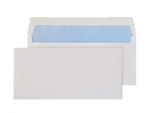 Blake Purely Everyday White Gummed Wallet 105X216mm 80Gm2 Pack 1000 Code 3700 3P