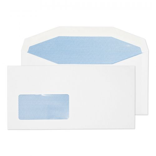 Purely Everyday Mailer Gummed Low Window White 90gsm DL+ 114x229 Ref 3704 Pk1000 *10 Day Leadtime*
