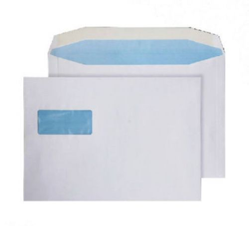 Purely Everyday Mailer Gum Landscape Wndw White 100gsm C4 229x324 Ref 3730W Pk250 *10 Day Leadtime*