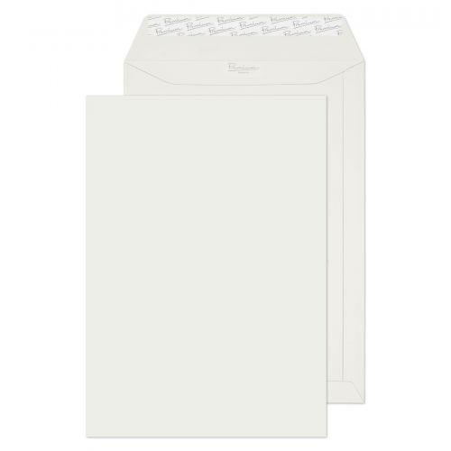Blake Premium Business Brilliant White Wove Peel & Seal Pocket 324x229mm 120g Pk20 Code 37653