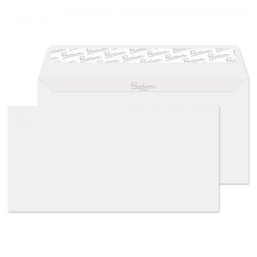 Blake Premium Envelope DL Wallet Peel & Seal 120gsm Brilliant White Wove Ref 37882 [Pack 500]