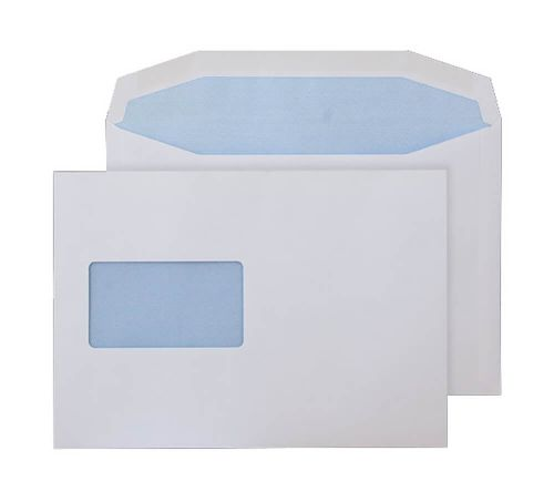 Purely Everyday Mailer Gummed CBC Window White 90gsm C5 162x229 Ref 3802CBC Pk500 *10 Day Leadtime*