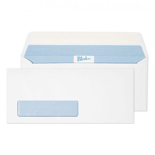 Blake Premium Office Ultra White Wove Window Peel & Seal Wallet 105X241mm 120G Pk500 Code 39216 3P