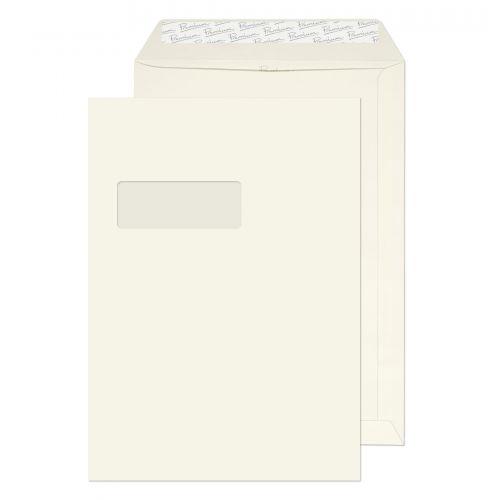 Blake Premium Business High White Laid Window Peel & Seal Pocket 324x229mm 120g Pk250 Code 39892