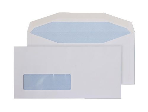 Purely Everyday Mailer Gummed Window White 90gsm DL+ 114x235 Ref 3998LW Pk 1000 *10 Day Leadtime*