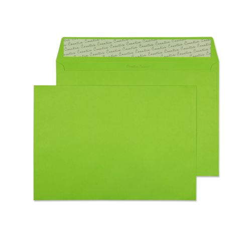 Blake Creative Colour Lime Green Peel & Seal Walle t 229X324mm 120Gm2 Pack 250 Code 407 3P