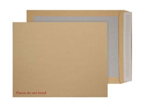 Blake Purely Packaging Manilla Peel & Seal Board Back Pocket 450X324mm 120Gm2 Pack 100 Code 4200 3P