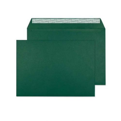 Creative Colour British Racing Green P&S Wallet C4 229x324mm Ref 421 [Pack 250] *10 Day Leadtime*