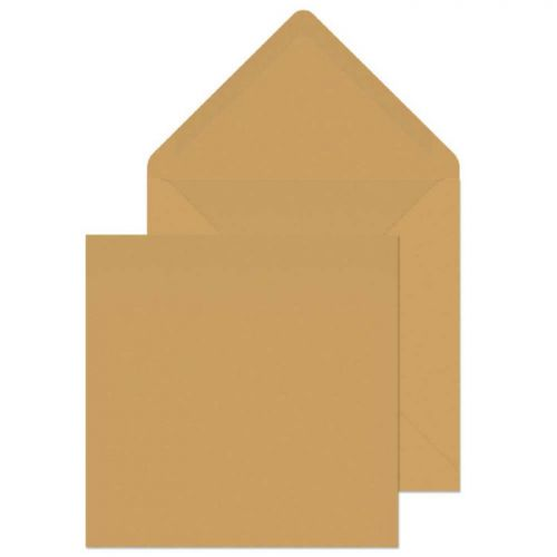 Purely Everyday Square Banker Invitation Gum Manilla 155x155 90gsm Ref 4255 Pk500 *10 Day Leadtime*