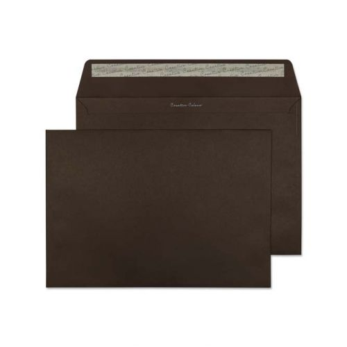 Creative Colour Bitter Chocolate P&S Wallet C4 229x324mm Ref 426 [Pack 250] *10 Day Leadtime*