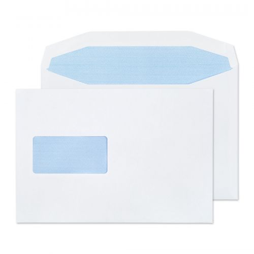 Purely Everyday Mailer Gummed Window White 90gsm C5+ 162x235mm Ref 4408 Pk 500 *10 Day Leadtime*