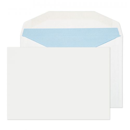 Purely Everyday Wallet Gummed White 90gsm B6 125x176mm Ref 4600 [Pack 1000] *10 Day Leadtime*