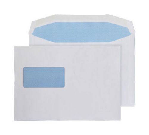Purely Everyday Mailer Gummed High Window White 90gsm C5+ 162x238 Ref 4709 Pk 500 *10 Day Leadtime*