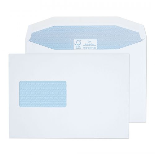 Purely Everyday Mailer Gummed CBC Wndw White 115gsm C5 162x229 Ref 4802CBC Pk500 *10 Day Leadtime*