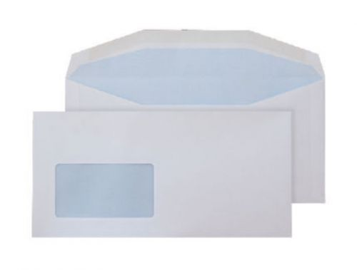 Purely Everyday Mailer Gummed Window White 115gsm DL+ 114x229mm Ref 4804 Pk 1000 *10 Day Leadtime*