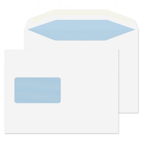 Blake Purely Everyday White Window Gummed Mailer 162x235mm 115gsm Pack 500 Code 4902CBC