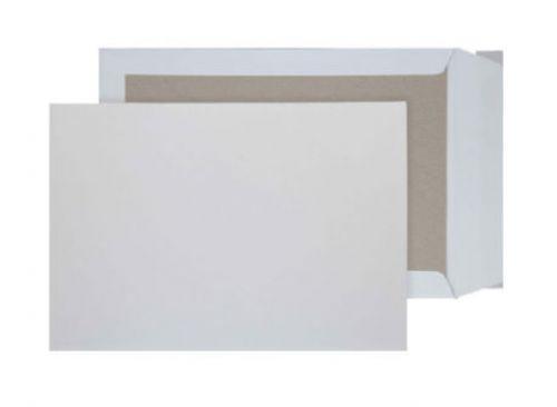 Blake Purely Packaging White Peel & Seal Board Bac k Pocket 229X162mm 120Gm2 Pack 125 Code 5111 3P