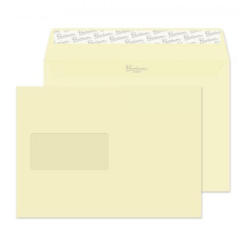 Blake Premium Business Vellum Wove Window Peel & Seal Wallet 162X229mm 120Gm2 Pack 500 Code 51708 3P