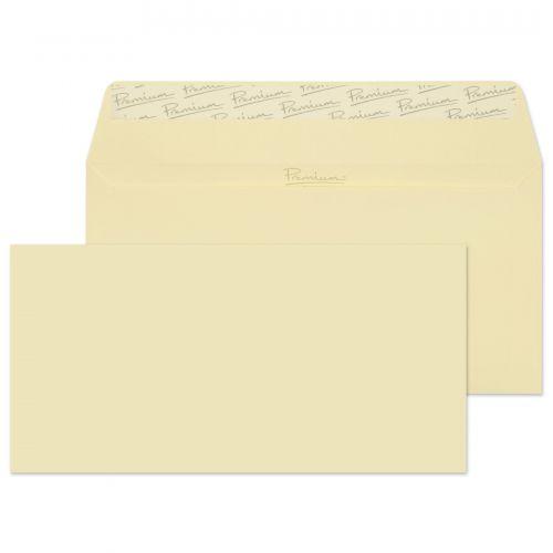 Blake Premium Business Vellum Wove Peel & Seal Wallet 110X220mm 120Gm2 Pack 500 Code 51882 3P