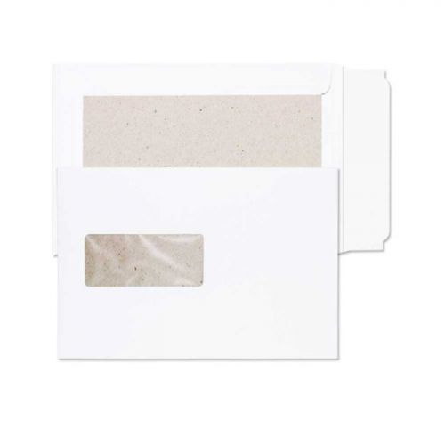 Purely Packaging Envelope Board Backed P&S 120gsm C5 White Ref 51901W [Pack 125] *10 Day Leadtime*