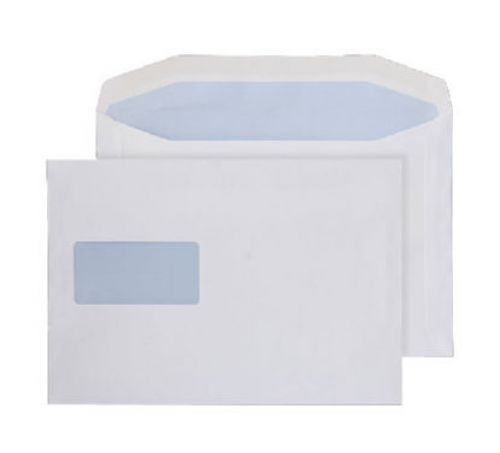 Purely Everyday Mailer Gummed High Window White 90gsm 178x254mm Ref 5508 Pk 500 *10 Day Leadtime*