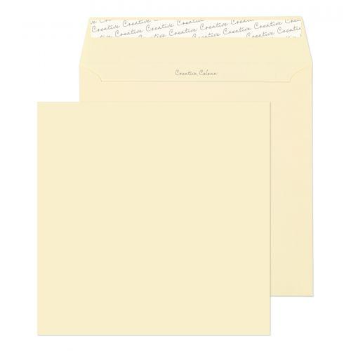 Blake Creative Colour Clotted Cream Peel & Seal Sq uare Wallet 220X220mm 120Gm2 Pack 250 Code 553 3P