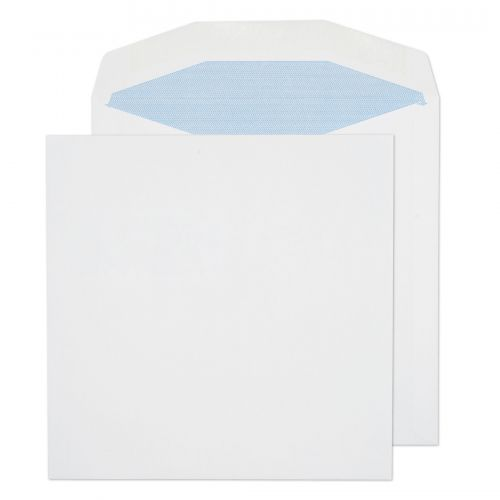 Purely Everyday Mailer Gummed White 100gsm 220x220mm Ref 5707 [Pack 500] *10 Day Leadtime*