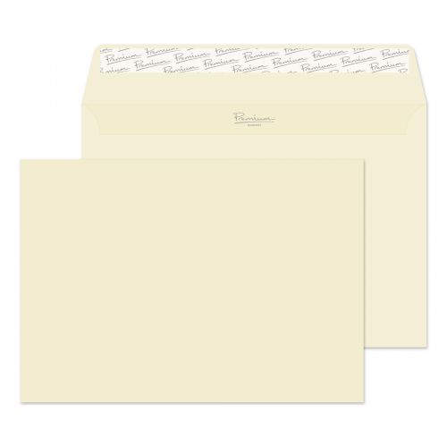 Blake Premium Business Wallet Envelope C5 Peel and Seal Plain 120gsm Cream Wove (Pack 50)
