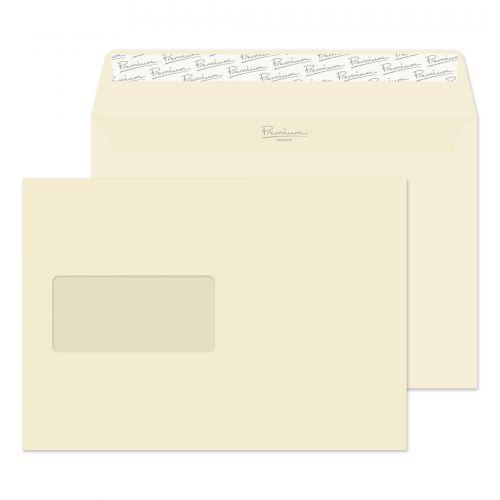 Blake Premium Business Wallet Wndw P&S Cream Wove C5 120gsm Ref 61708 Pk500 *10 Day Leadtime*