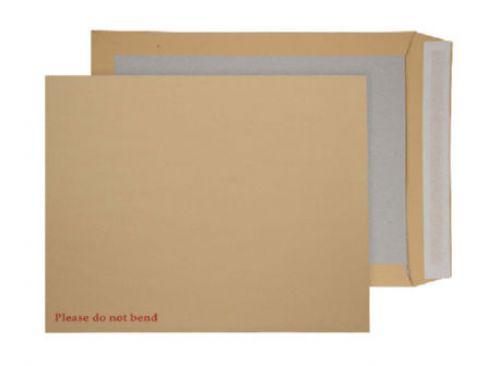Blake Purely Packaging Manilla Peel & Seal Board Back Pocket 444X368mm 120Gm2 Pack 50 Code 6200 3P
