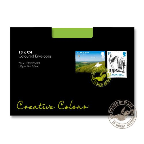 Blake Creative Colour Bl 63407 Lime Green C4 P Amp Amp S Wlt Paper