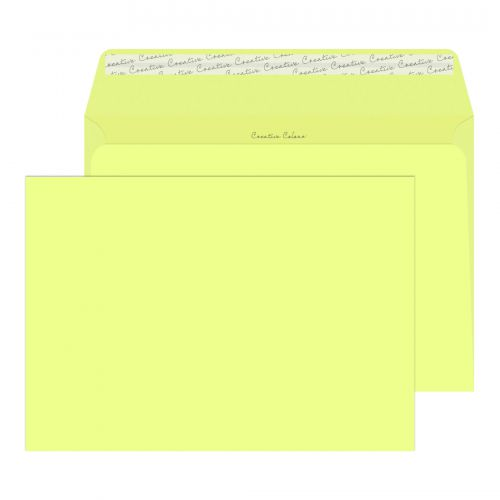 **Creat Col Wlt P/S Lemon Yellow 120gsm
