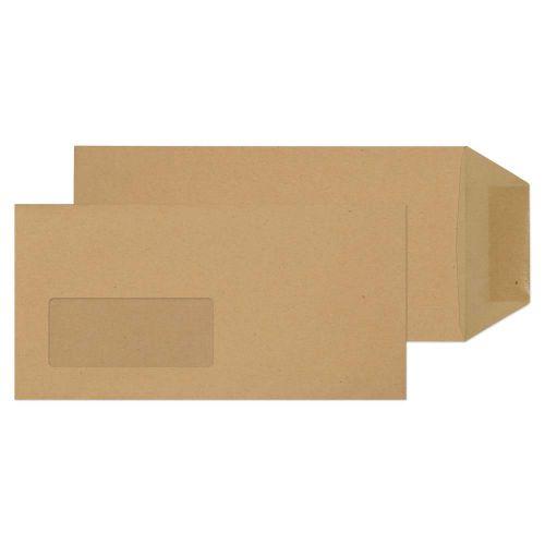 Blake Purely Everyday Manilla Window Gummed Pocket  220X110mm 80Gm2 Pack 1000 Code 66780W 3P